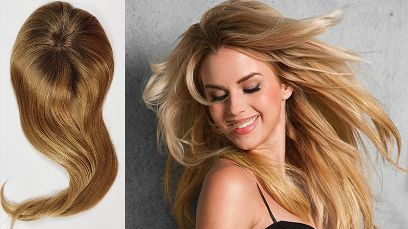Hair Topper For Thinning Crown - The Ultimate Solution For Hair Loss