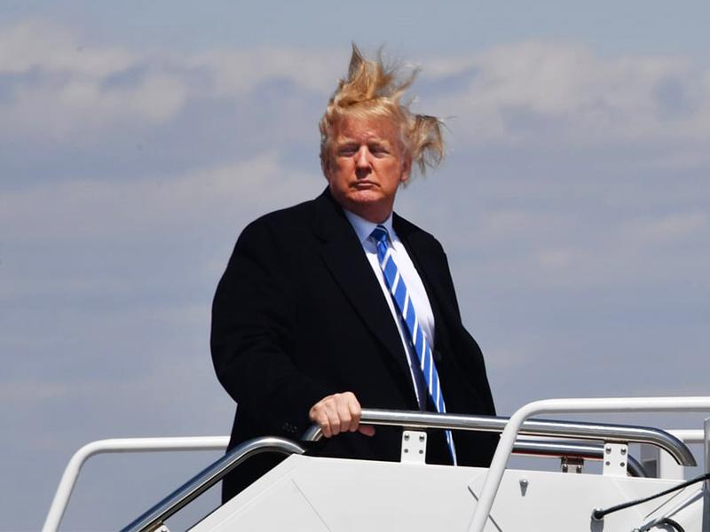 Donald Trump Hair Piece - Does Trump's Hair Real Or Fake?
