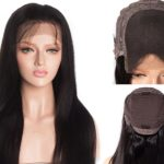 5*5 French Lace Closure Wig For Women
