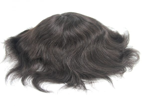 Transparent Super Thin Skin Wigs For Men With ½ Extra Skin On Front