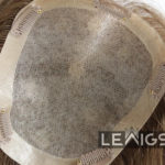 """Real Hair Toppers Mono Base With 1"""" PU Coated Perimeter 