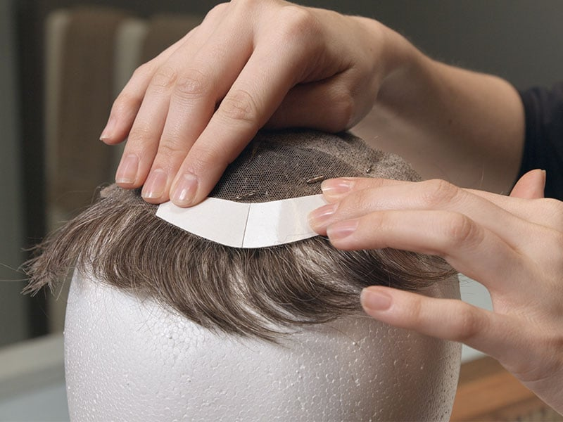 How To Wear A Toupee? - The Complete Guide   Lewigs Human Hair