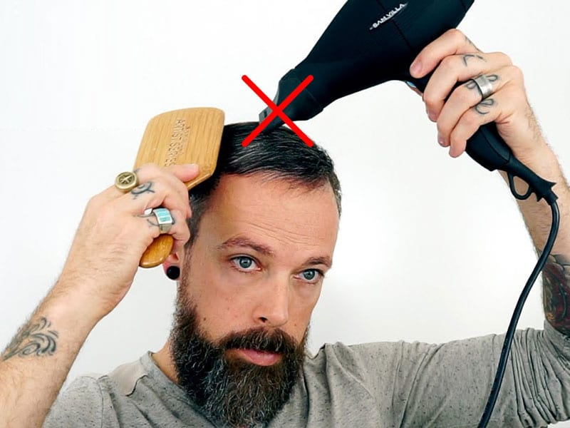 Toupee Hair Replacement System Maintenance | How To Care A Toupee?