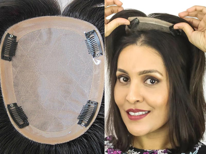 How To Measure The Base Size Of Human Hair Toppers For Thin Hair?