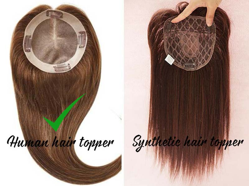 6 Reasons Not To Waste Your Money On Synthetic Hair Toppers | Lewigs