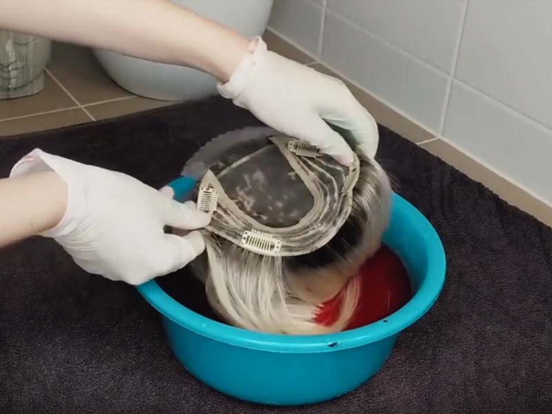 How To Dye Human Hair Topper? - The Simple Steps To Get There!