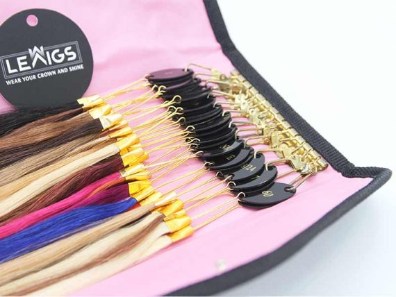 Color Ring For Hair Systems | Hair Color Swatch | Hair Accessories