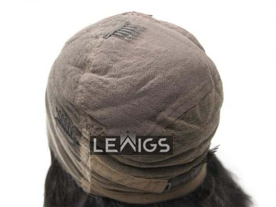 "14"" Black Wavy Full Lace Wig | Best Human Hair Wigs | Lewigs"