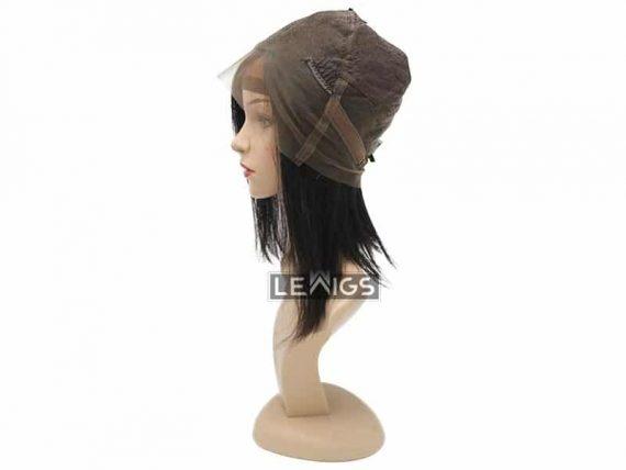 """Full Lace Human Hair Bob Wigs 12"""" & 150% Density"""