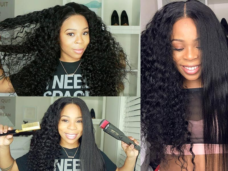 Top 5 Easy & Actionable Tips On How To Straighten A Wig Yourself