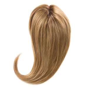 Blonde Ash Crown Topper Hair Extensions 20""