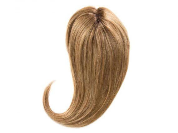 "Blonde Ash Crown Topper Hair Extensions 20"""