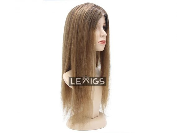 """7""""x9"""" Hair Topper Extensions 20 inches Color #12 Ash"""