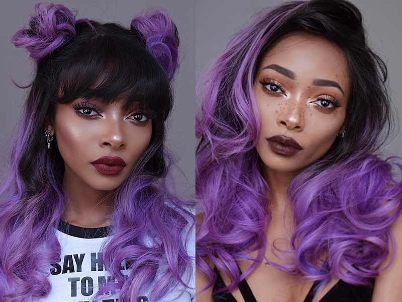 What Happens If You Put Brown Dye On Purple Hair?