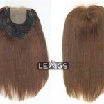 "Silk Base Wiglet Topper 16"" Brown Color Lewigs"