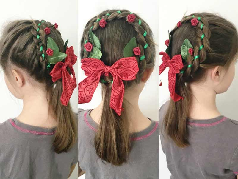 Top 15+ Christmas Hair Styles To Turn Heads This Holiday Season