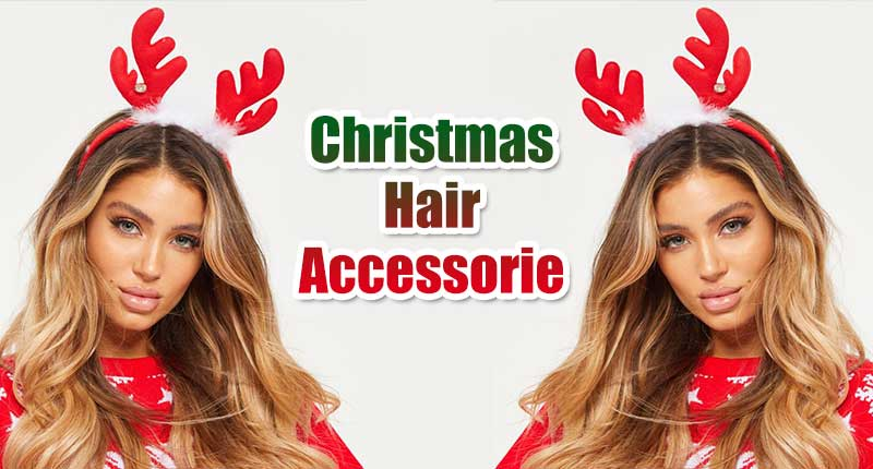 9 Christmas Hair Accessories To Welcome The Santa - Lewigs