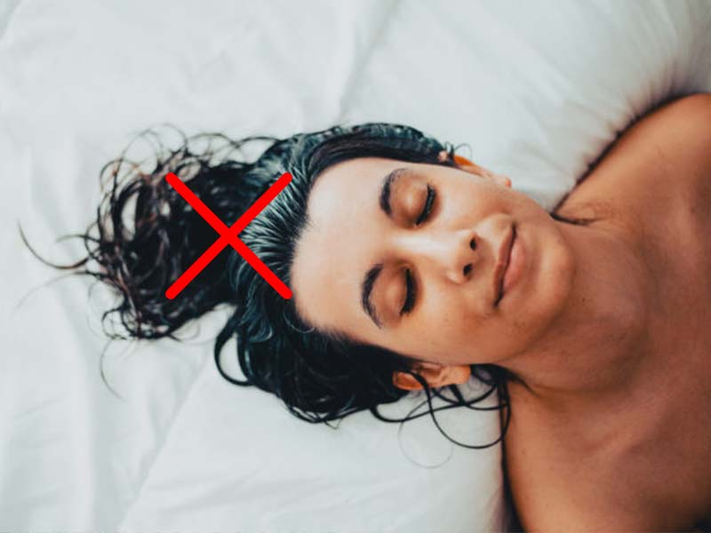 How To Prevent Hair Breakage While Sleeping | Lewigs