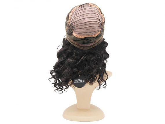 """360 Lace Frontal Wig Human Hair #Natural Black 12"""" Wavy"""