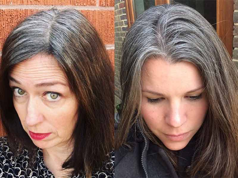 How To Go Grey From Colored Hair? - Follow Our Tips To Get There