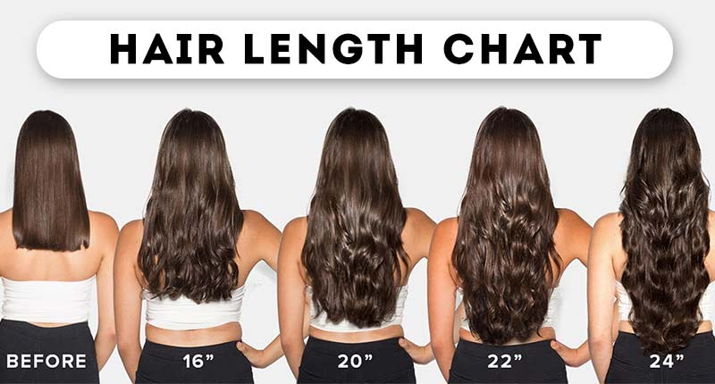 Hair Length Chart What You Don T Know May Shock You Lewigs