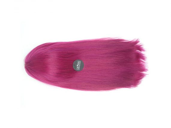 """Pink Lace Front Wigs Real Human Hair 22"""" #Pink 