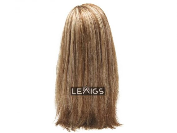 "18"" Straight Full Lace Wig Mixing Colors - 100% Real Human Hair"