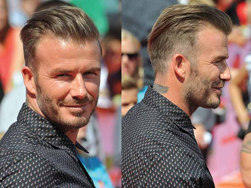 David Beckham Hair: The Secret Of The World's Most Aesthetic Man