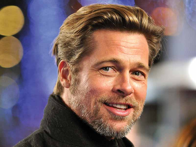 Brad Pitt Hair - The Secrets Of The World's Sexiest Man Alive