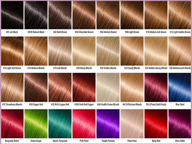 Ion Hair Color Chart For Beginners And Everyone Else