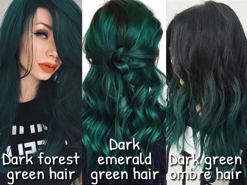 At Last, The Secret To Dark Green Hair Is Revealed