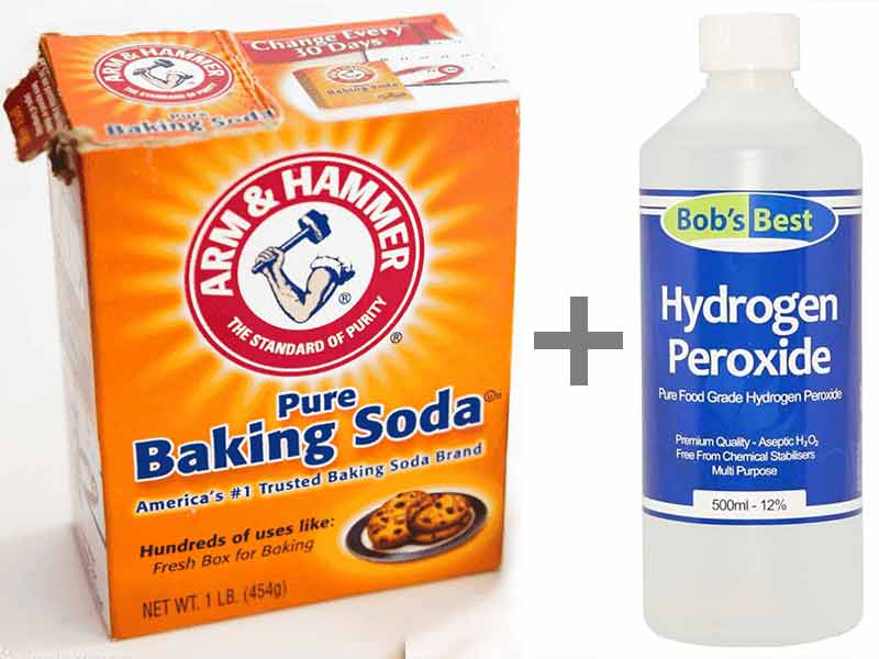 How To Bleach Hair With Hydrogen Peroxide And Baking Soda Lewigs