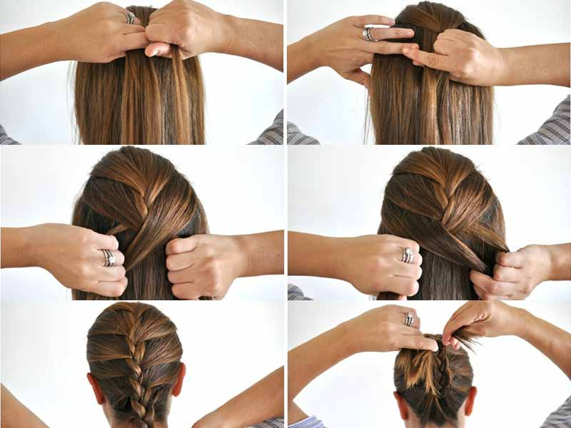 The A Z Guide Of How To French Braid Your Own Hair Lewigs