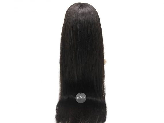 "150% Density Remy Full Lace Wig 22"" Color #1B"