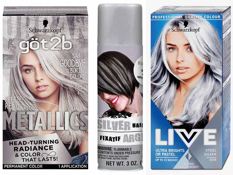 6 Smart Ideas To Dye Hair Grey From Dark Brown