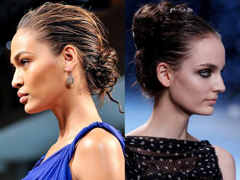 The Pro Secrets Behind A Messy Bun With Long Hair