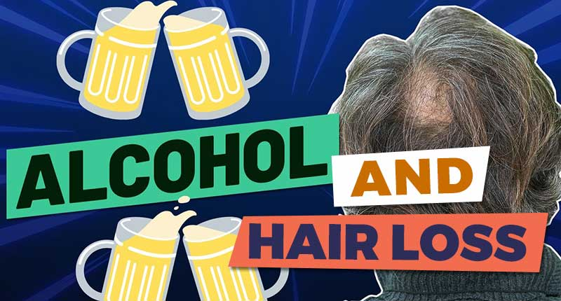 Is Alcohol To Blame For Hair Loss? Myths Debunked!