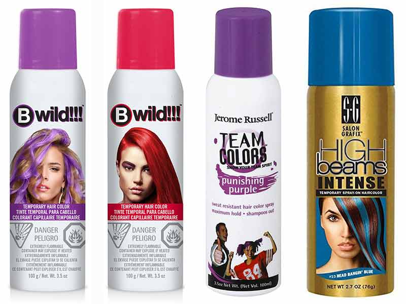Top Best Temporary Hair Color Spray An Unbiased Review Lewigs