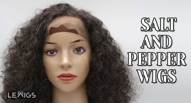 Try Out Salt And Pepper Wigs For A Gorgeous Grey Hair Look!