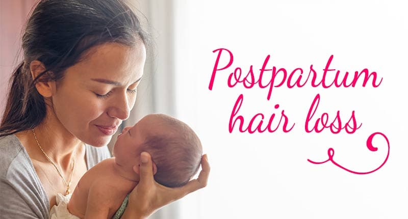 Postpartum Hair Loss: What Everyone Hasn't Been Told About