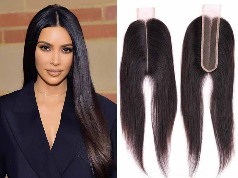Kim K Lace Closure Is Burning HOT Right Now!