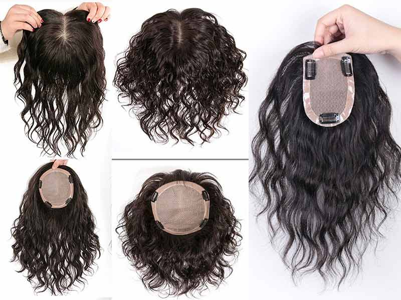 Hair Toppers For Curly Hair - Your Thinning Crown Is No Longer A WORRY