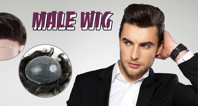 Male Wig - The Secret For Every Man's Good-Looking Head Of Hair!