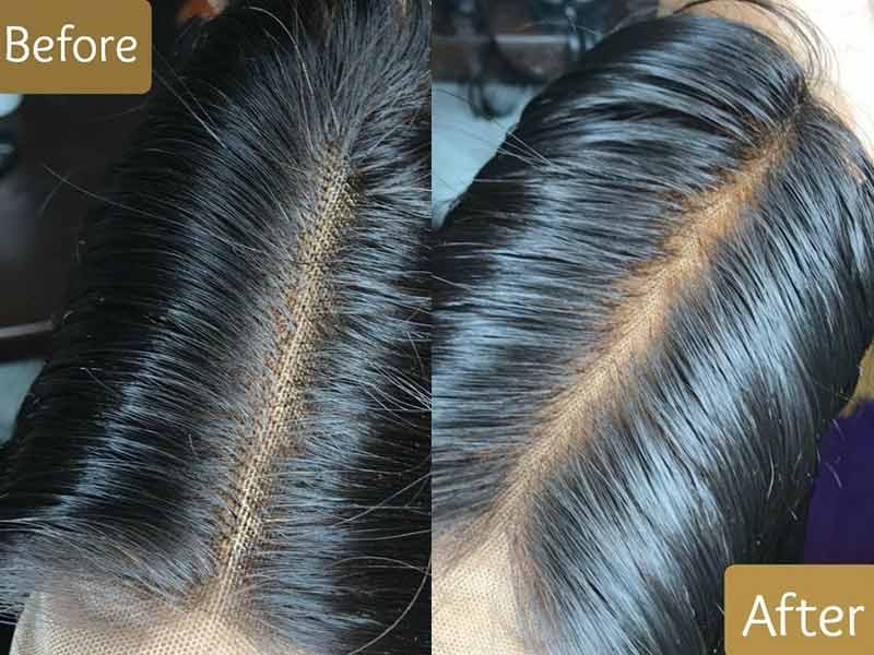 How To Bleach Knots On Lace Closure - The Easy Way Out!