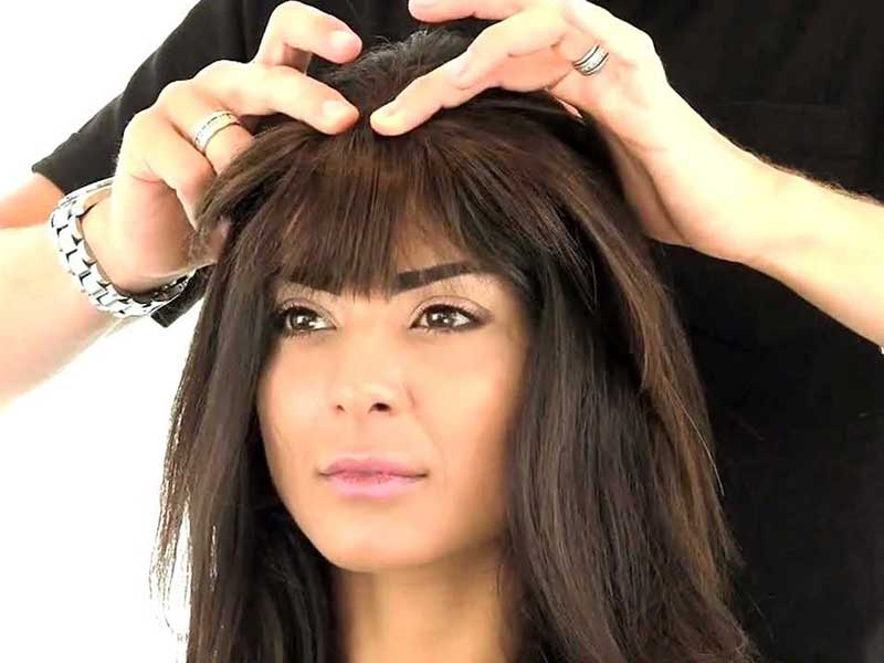 Try Hair Topper With Bangs For Voluminous & Nice-Looking Hair Crown
