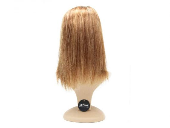 "14"" Clip In Human Hair Topper Mixing Colors 10/613"