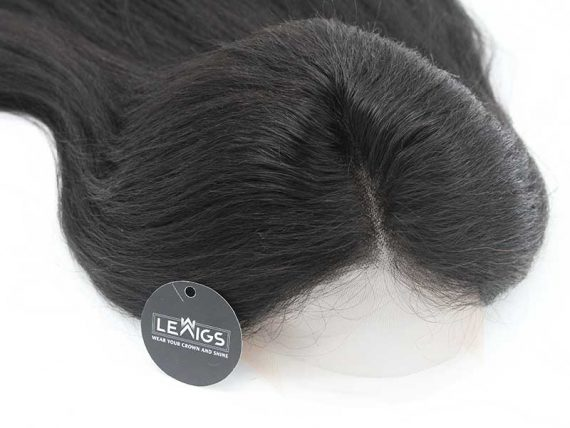"""26"""" Kinky Straight Full Lace Wig Real Hair 180% Density, HD Lace"""