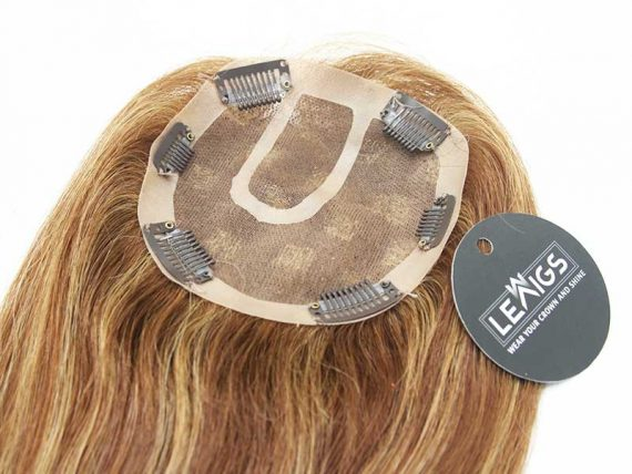 """10"""" Straight Clip On Hair Topper Mixing Color 6/24"""