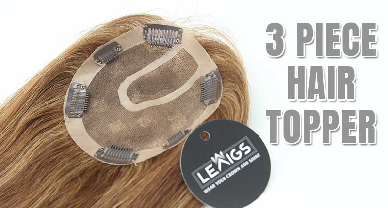 3 Piece Hair Topper - The System Everyone's Buzzing About