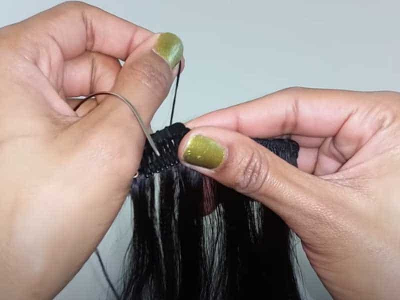 How To Make Clip In Hair Extensions? (With Pictures)